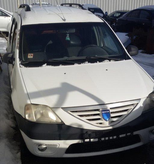 Dezmembrez Dacia Logan MCV MCW 2007 Euro 4 Diesel 1.5 dci Culoare alba Neavariata AC servo proiectoare
