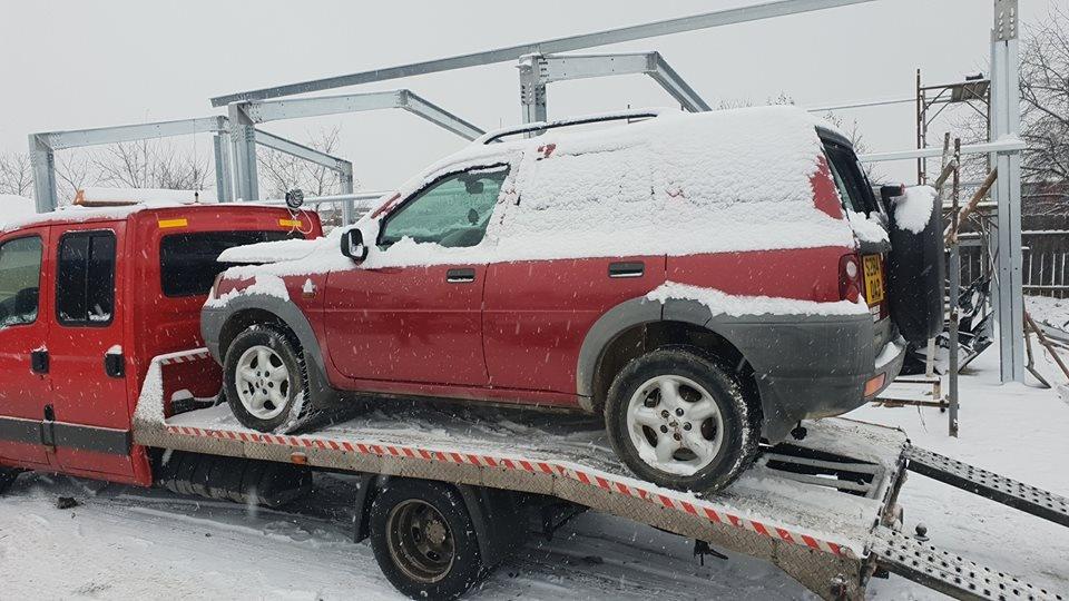 Dezmembrez dezmembram piese auto Land Rover Freelander an 1999 motor Rover