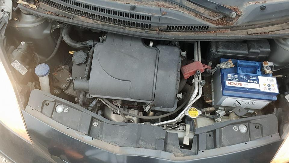 Dezmembrez dezmembram piese auto Toyota Aygo 2007 coupe 1.0 benzina