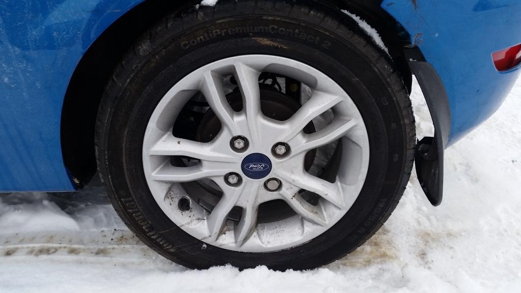 Dezmembrez Ford Fiesta MK6 - 1.0i - ECOBOOST - 2016