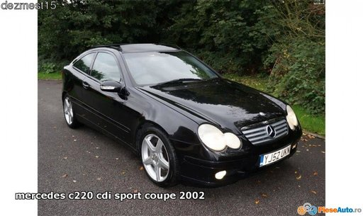 Dezmembrez mercedes c220cdi, coupe, w203, fabricatie 2000-2007