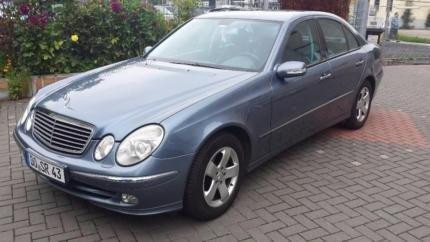 Dezmembrez Mercedes E class W211 2.7 cdi 2002 2006