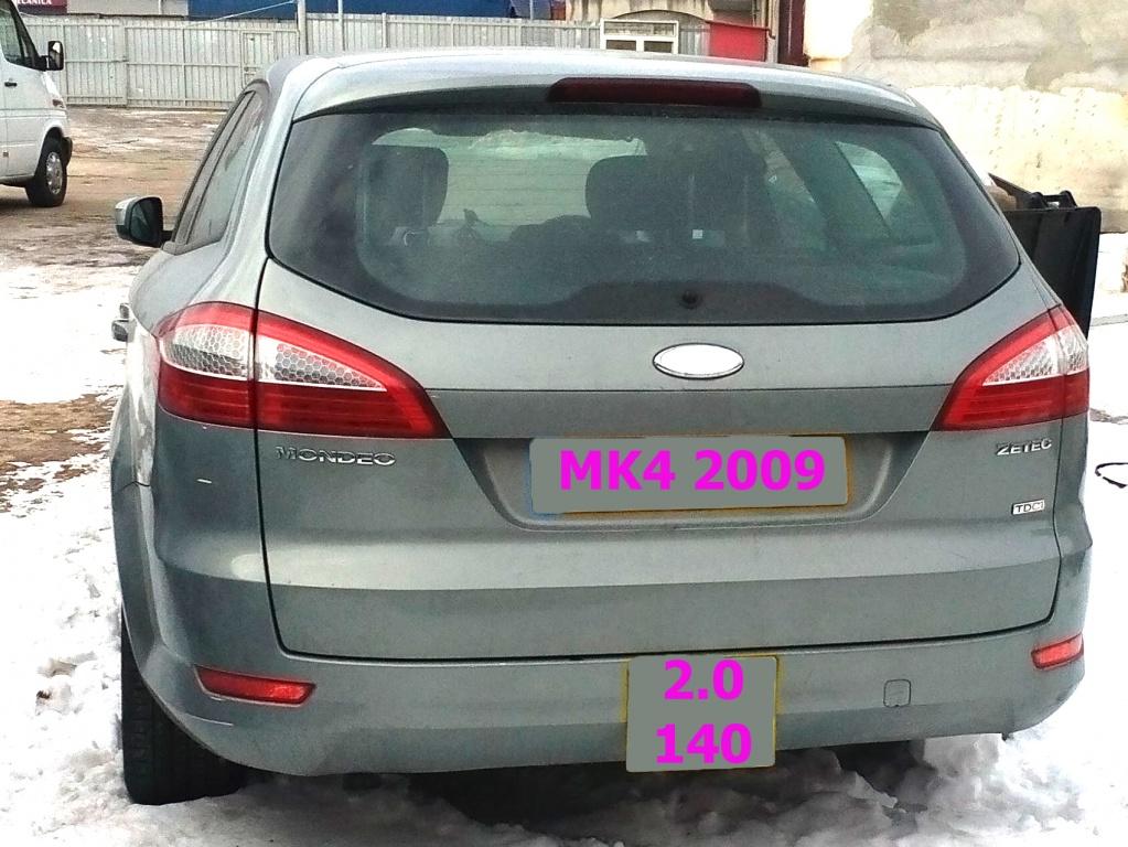 Dezmembrez Mondeo MK4 4 IV 2007 2008 2009 2010 2.0 tdci diesel 140cp 103kw