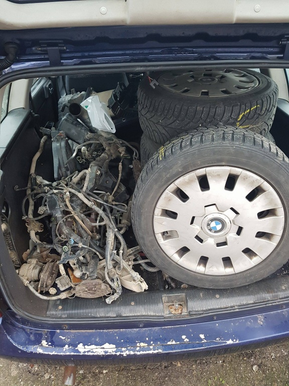 Dezmembrez Opel Astra G 1.6 16V an 1999