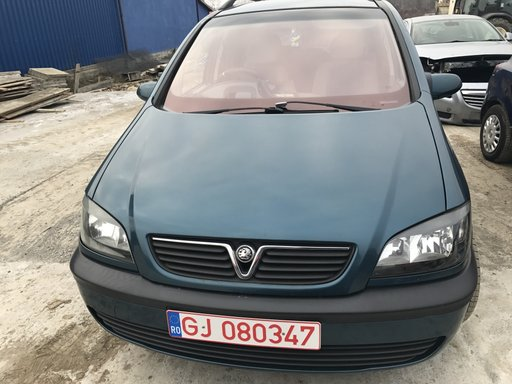 Dezmembrez Opel Zafira A an 2001 motor 1,6 16V Cod 16xe