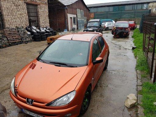 Dezmembrez Peugeot 206 an 2001 motor 1.4 benzina
