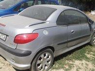 Dezmembrez Peugeot 206 CC 2.0 benzina an 2001
