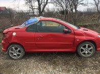 Dezmembrez Peugeot 206 cc 2003 1.6 Benzina