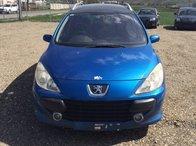 Dezmembrez Peugeot 307 albastru 1,6hdi an 2007