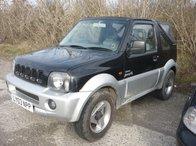 Dezmembrez piese Suzuki Jimny O2 , 1.3i, an 2003, 4x4, soft top