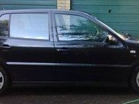 Dezmembrez Polo 6N2 2001 1.4 Benzina 16V 55KW 75CP Automat Anglia Negru
