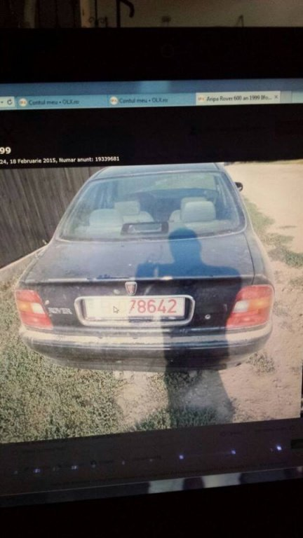 Dezmembrez Rover 600 din 2000 2.0D