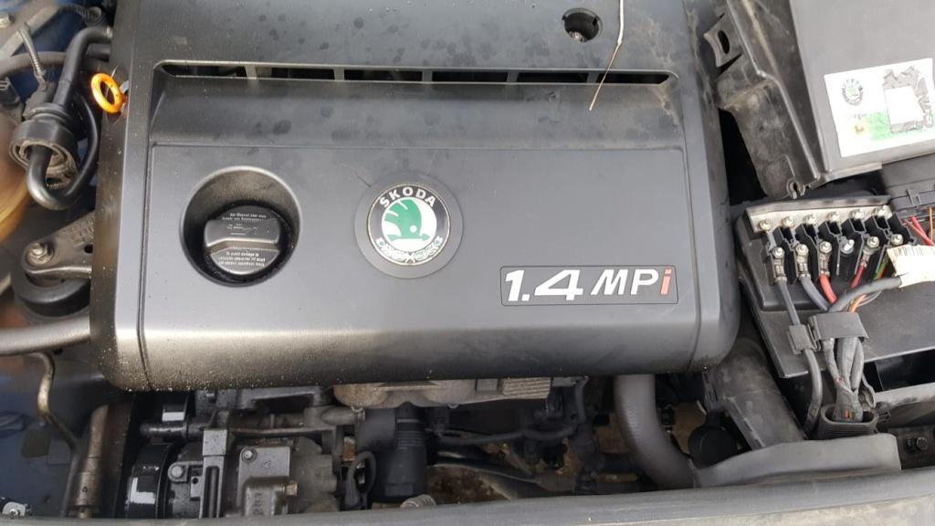 Dezmembrez Skoda Fabia 1 din 2002 motor 1.4 MPI