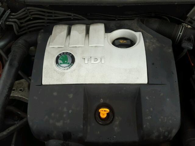 Dezmembrez SKODA FABIA an 2004 motor 1.4tdi