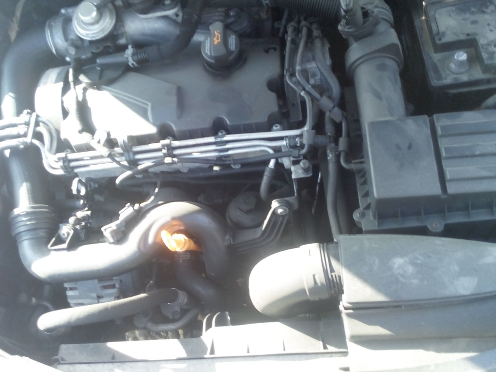 Dezmembrez Skoda Octavia 2 Facelift an fabricatie 2010 motor BXE