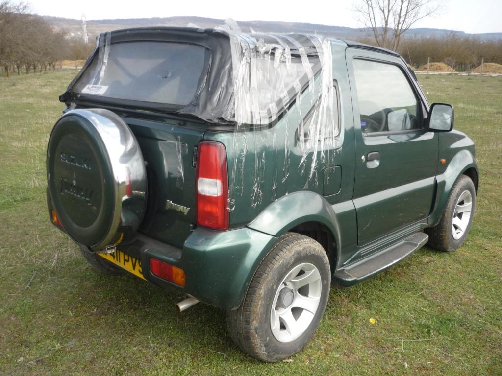 Dezmembrez Suzuki Jimny, 1.3 benzina, 4x4, an 2001
