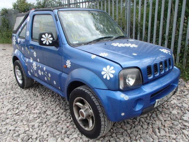 Dezmembrez Suzuki Jimny, motor 1.3 benzina, an 2002, 4x4