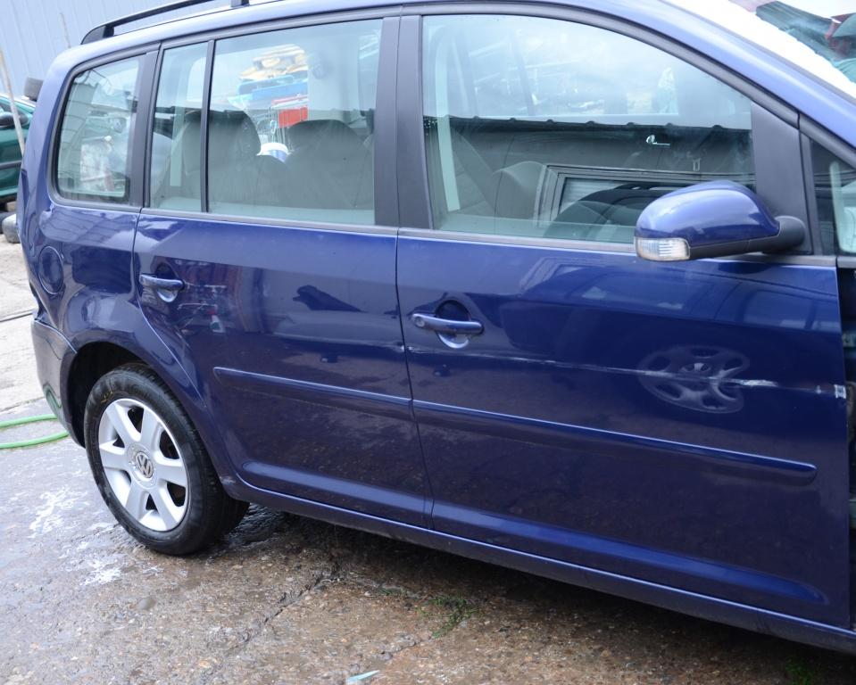 Dezmembrez VW Touran 2.0 TDI BMN 125KW 170CP 2007 volan stanga europa Albastru indigo