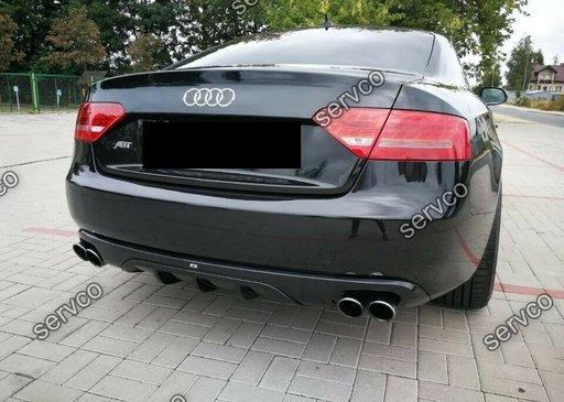 Difuzor evacuare spoiler tuning sport bara spate Audi A5 Coupe Cabrio ABT DTM S5 07-12 v9