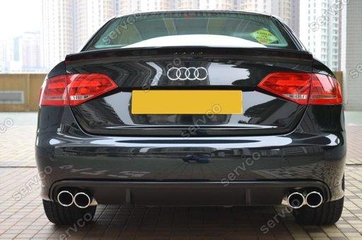 Difuzor RS4 Audi A4 B8 ver4