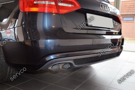 Difuzor S Line Audi A4 B8 Facelift