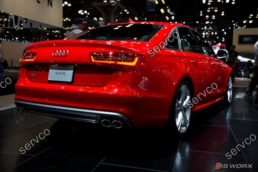 Difuzor S6 A6 4G C7 Rs6 Audi ver3