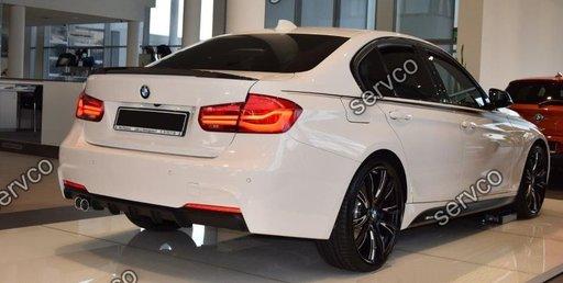 Difuzor spoiler tuning BMW Seria 3 F31 F30 Mpachet tech2 mpack aero Performance m pack ver2