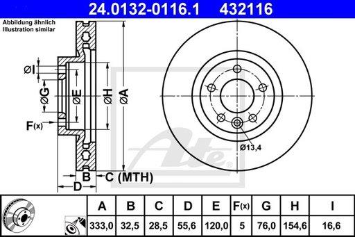 DISC FRANA - ATE - 24.0132-0116.1