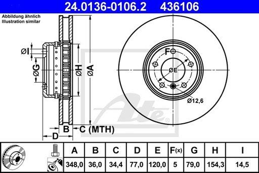 Disc Frana - ATE - 24.0136-0106.2