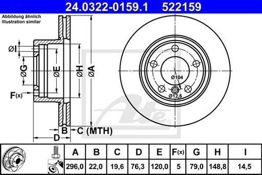 Disc Frana - ATE - 24.0322-0159.1