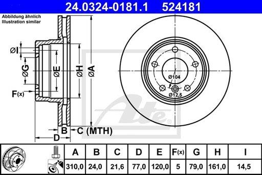 Disc Frana - ATE - 24.0324-0181.1
