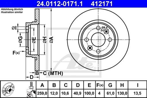 DISC FRANA FATA - ATE - 24.0112-0171.1