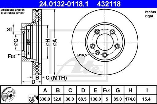 DISC FRANA FATA DR - ATE - 24.0132-0118.1