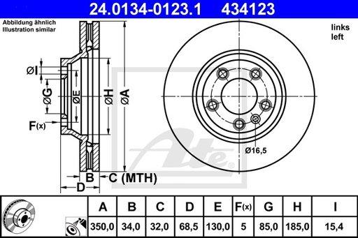 DISC FRANA FATA STG - ATE - 24.0134-0123.1