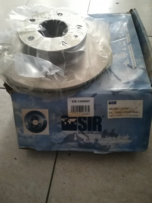 DISC FRANA FIAT DUCATO ,PEUGEOT BOXER,CITROEN JUMPER SIR-2209007