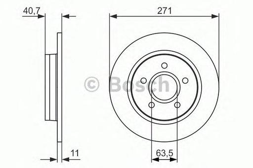 Disc frana FORD FOCUS 11- punte spate (cu strat anticoroziv) - Cod identificare: 19-2233MAX - Cod intern: 19-2233MAX - MAXGEAR