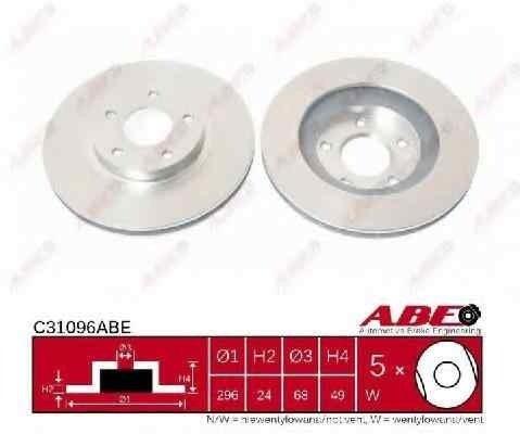 Disc frana Producator ABE C31096ABE