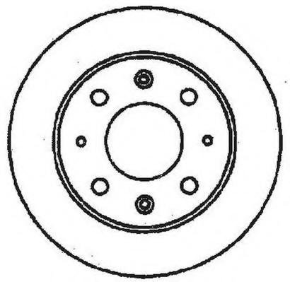 Disc frana TRIUMPH ACCLAIM limuzina, HONDA CIVIC   hatchback (SB), HONDA CIVIC   limuzina (SF) - JURID 561144J