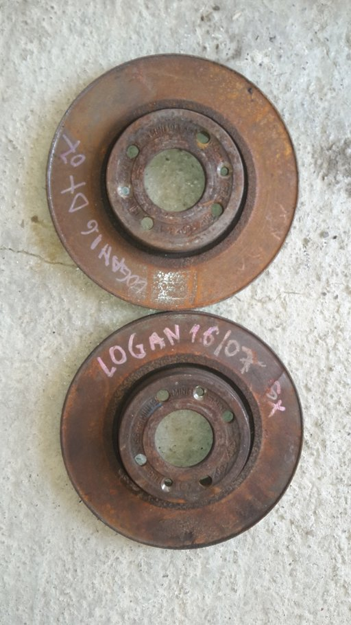 Discuri față Dacia logan MCV 1.6,1.4 mpi 2007