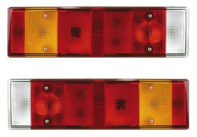 Dispersor (geam) lampa spate (tripla) stanga Renault Major, Midlum, Premium, Kerax, Magnum | Piese Noi