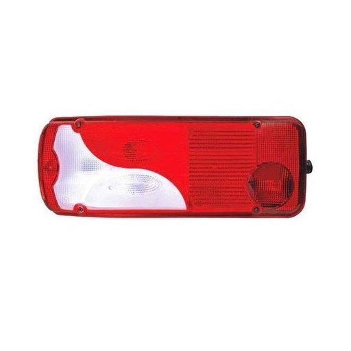 Dispersor / geam lampa stop / tripla stanga MAN TGA/ TGL/ TGM/ TGX, Scania P-G-R-T 94 114 124 144 164