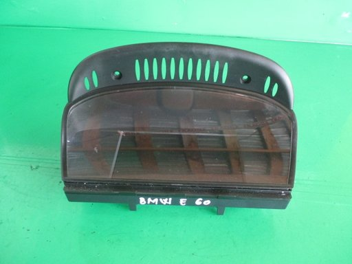 DISPLAY / CEAS BORD / NAVIGATIE BMW SERIA 5 E60 / E61 FAB. 2003 - 2010 ⭐⭐⭐⭐⭐