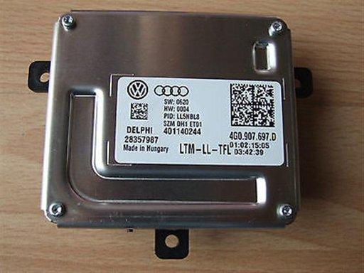 Droser/ calculator lumini pozitie led / Modul droser led pentru Audi A5 an 2012-2016 cod 4G0907967D sau cod echivalent Delphi 401140244 ,Produs NOU
