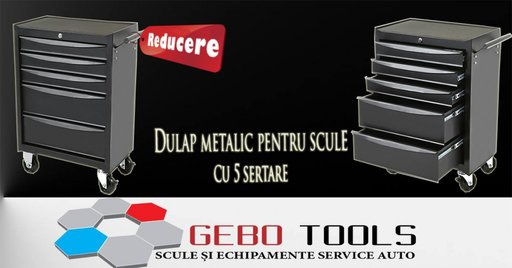 Dulap metalic scule 5 sertare