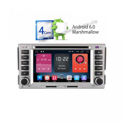 Dvd Auto Navigatie Dedicata Hyundai Santa Fe GPS CARKIT CARKIT USB TV NAVD-A008