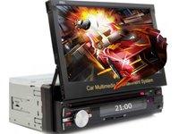 DVD PLAYER AUTO UNIVERSAL ECRAN RETRACTABIL 7'' CARKIT USB SD ZS-8801