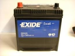 Eb505 baterie exide excell 50ah