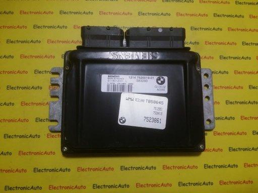 ECU Calculator motor Mini Cooper 1.6 S118012001L, 1214752001901