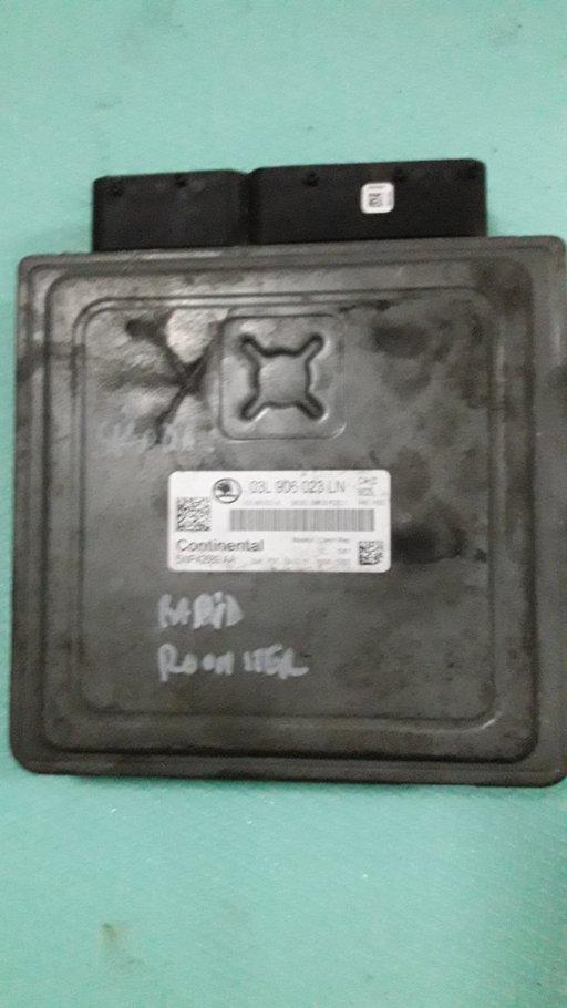 ECU Calculator motor Skoda Roomster,1.6 TDI,cod motor,CAY, cod piesa 03L906023LN,an 2009-2012