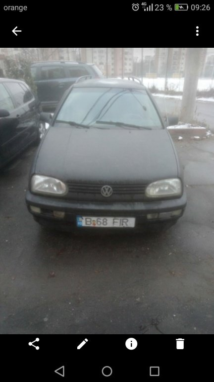 Egr. (Golf 3 diesel 1.9 Tdi. An 1999 break